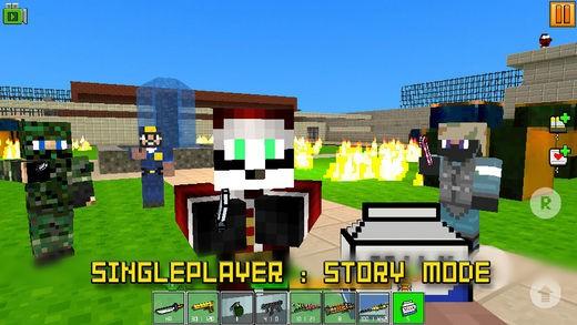 Cops N Robbers(FPS): 3D Pixel