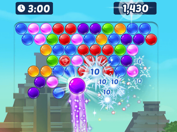 Bubble Shooter Arena