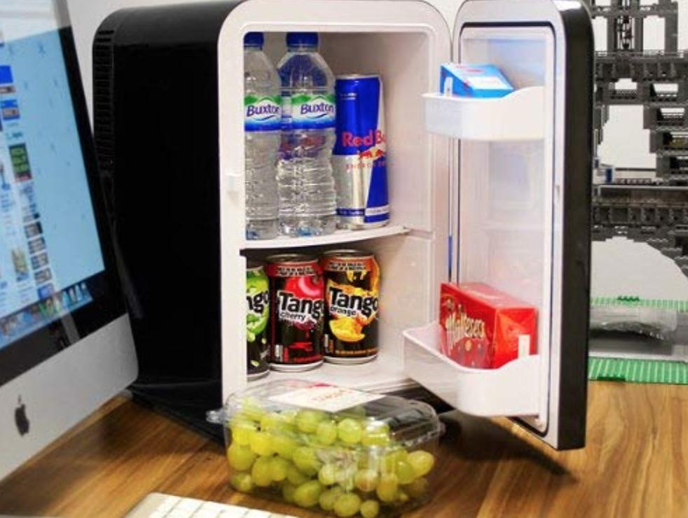 star trek mini fridge