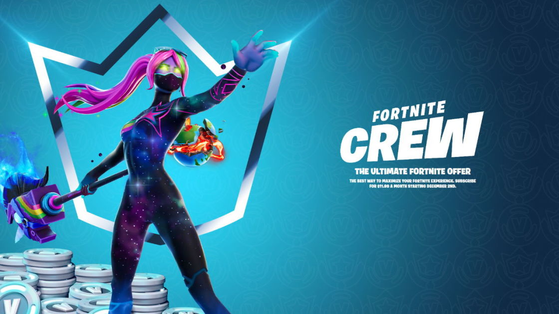 Casual Gaming News: Epic Games Launches Fortnite Crew Subscription for $12 a Month
